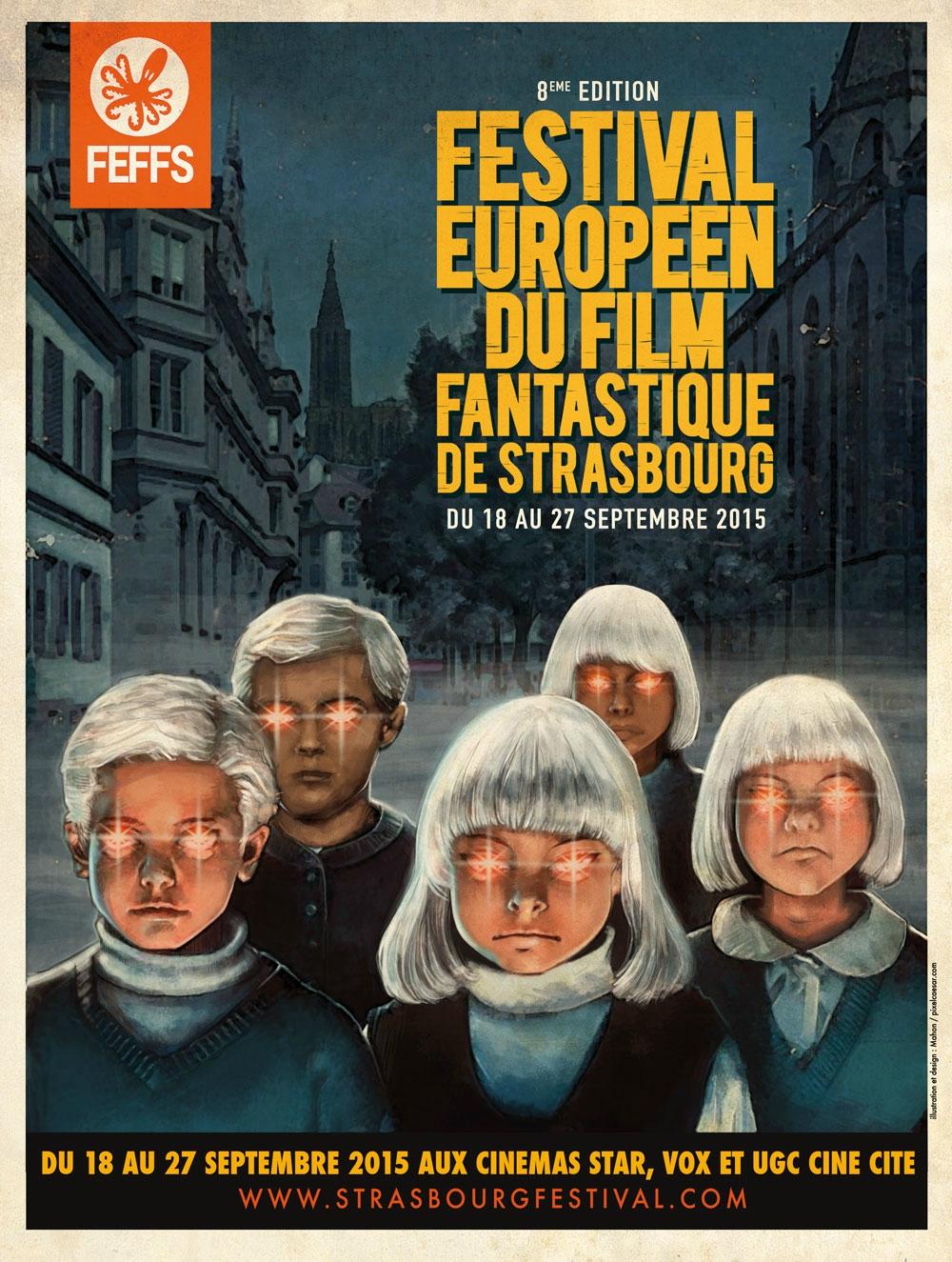 Festival Européen du Film Fantastique de Strasbourg 2015