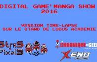 Digital Game'Manga Show 2016 version time-lapse