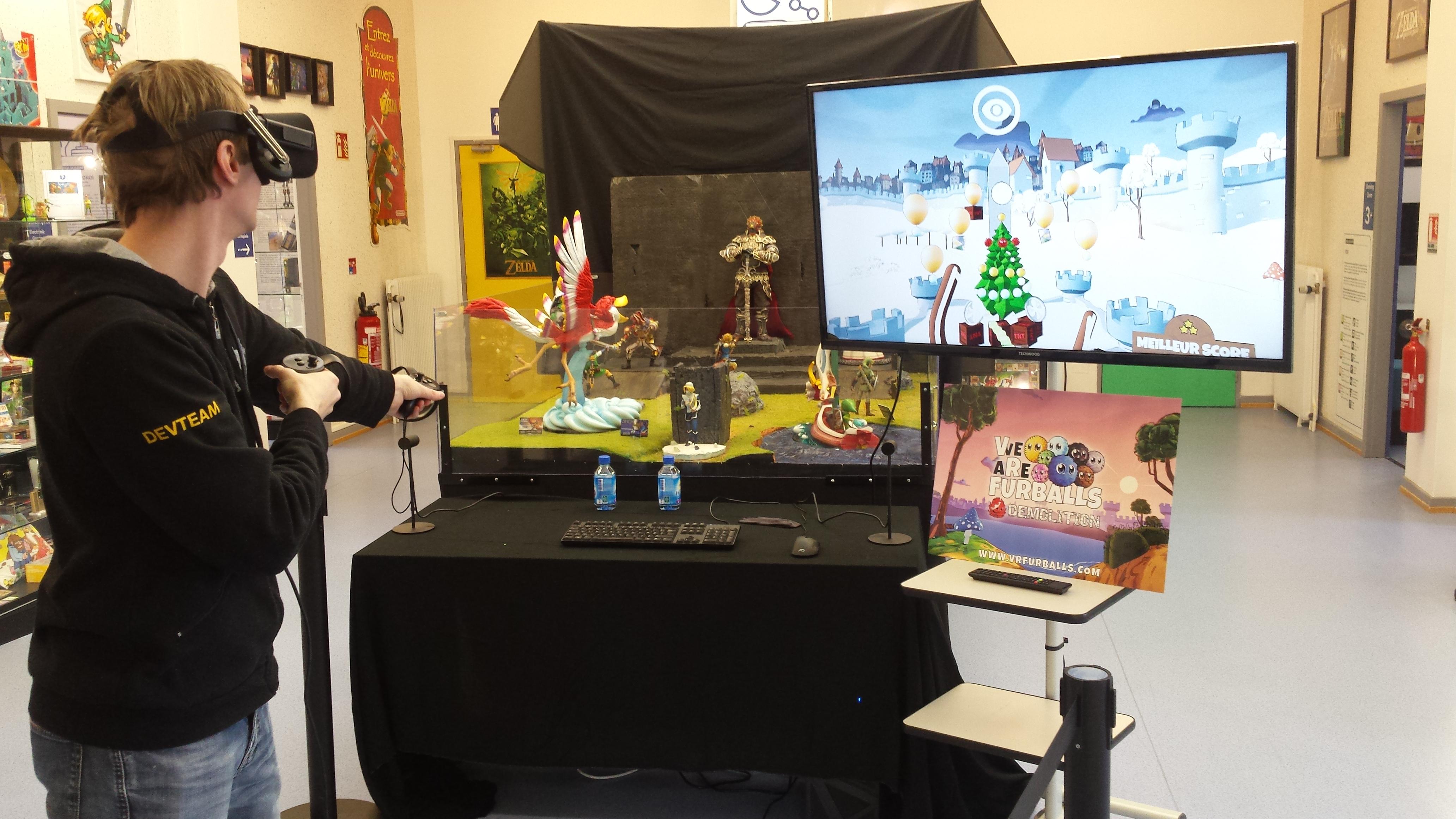 Interview de Steeve Kilhoffer (VR Furballs – Demolition) – 1 an du Pixel Museum