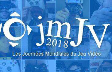 Journées Mondiales du Jeu Vidéo 2018 au Pixel Museum