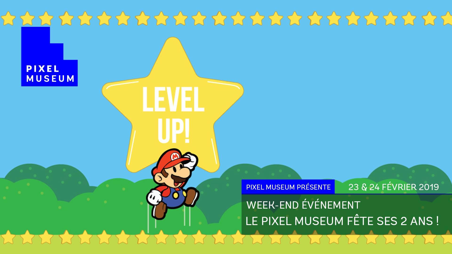 [ÉVÉNEMENT] Le Pixel Museum fête ses 2 ans !