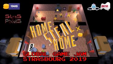 Global Game Jam Strasbourg 2019 – Team Cif Eleven (Home Steal Home)