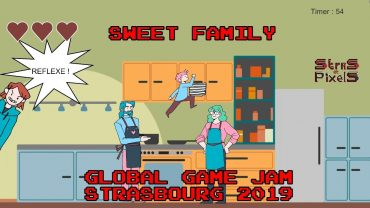 Global Game Jam Strasbourg 2019 – Team Vert Feuille (Sweet Family)