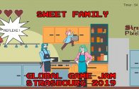 Global Game Jam Strasbourg 2019 – Sweet Family