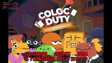 Global Game Jam Strasbourg 2019 – Team Gudul (Coloc Duty)