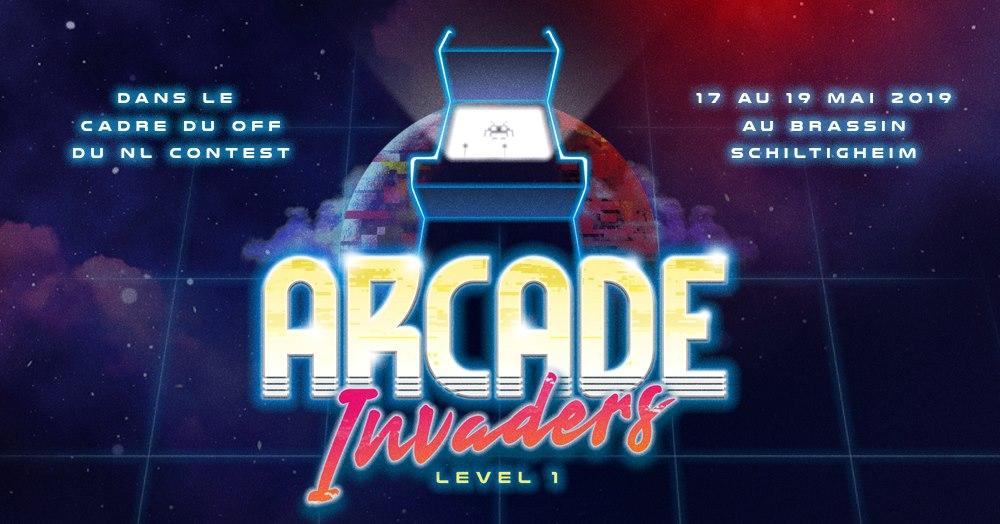 [ÉVÉNEMENT] Arcade Invaders – Level 1