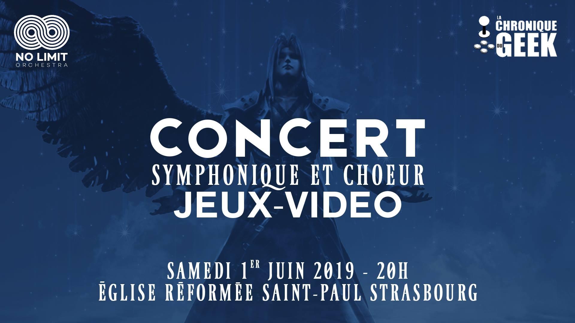 [ÉVÉNEMENT] Concert Symphonique et chœur jeux vidéo Nolimit Orchestra