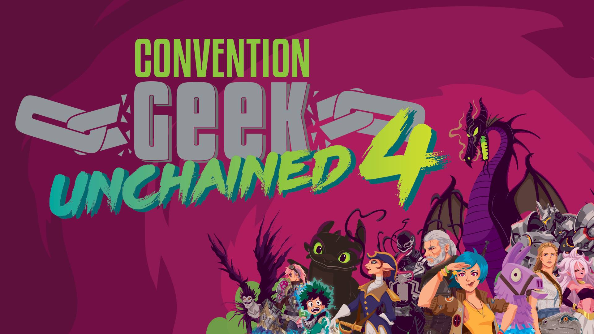 [ÉVÉNEMENT] Convention Geek Unchained 4