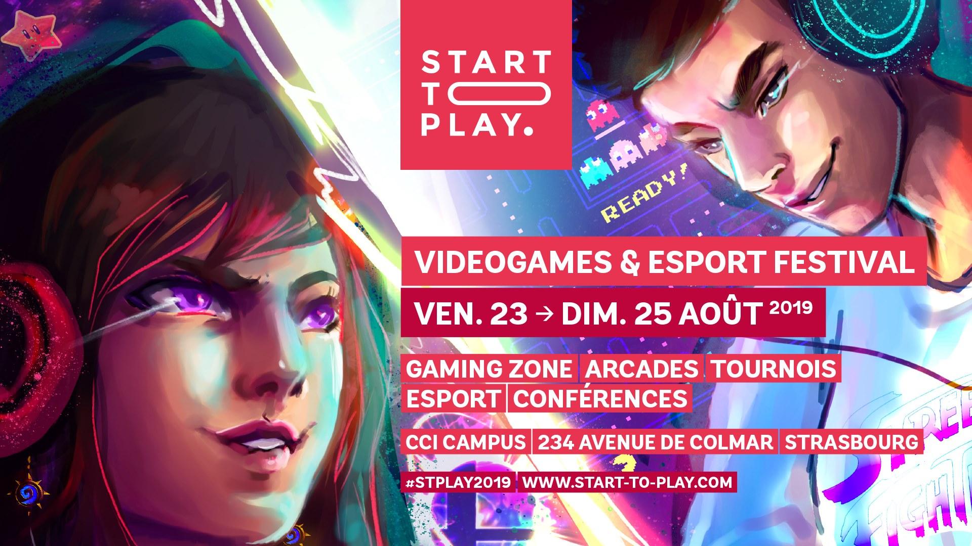 [ÉVÉNEMENT] Start To Play 2019 – Videogames & Esport Festival