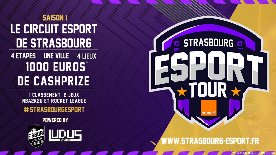 [ÉVÉNEMENT] Strasbourg Esport Tour by Orange