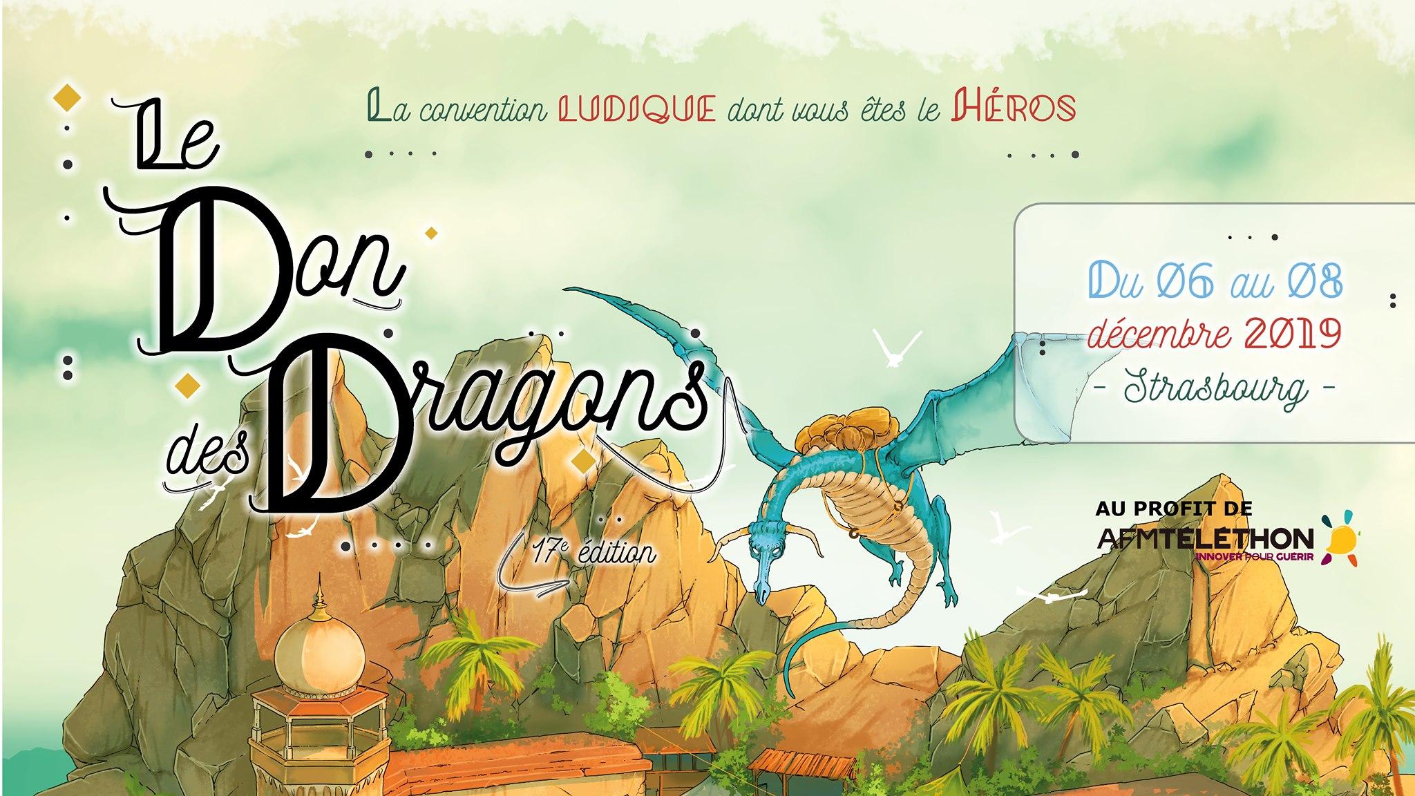 [ÉVÉNEMENT] Convention Le Don des Dragons 2019 – 17e édition