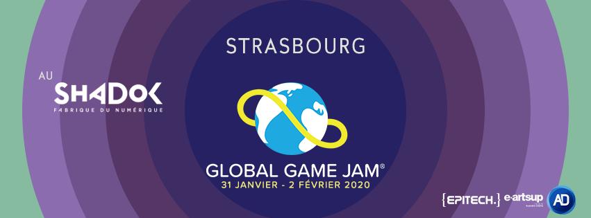 [ÉVÉNEMENT] Global Game Jam Strasbourg 2020