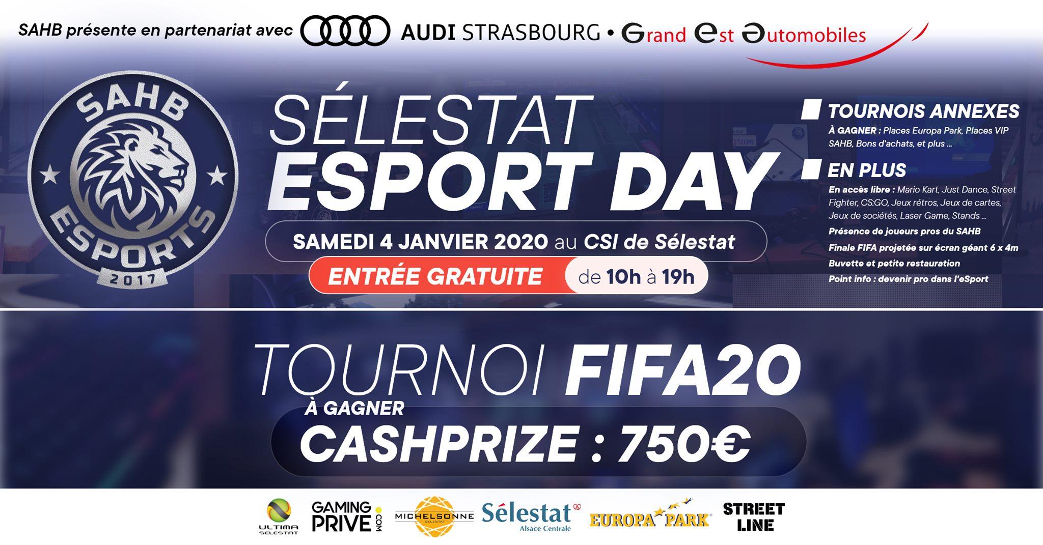 [ÉVÉNEMENT] Sélestat Esport Day