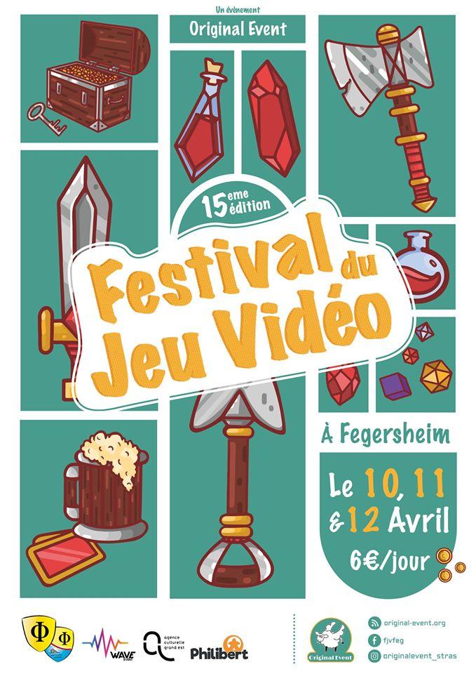 [ÉVÉNEMENT] – Annulé – Festival du Jeu Vidéo 2020