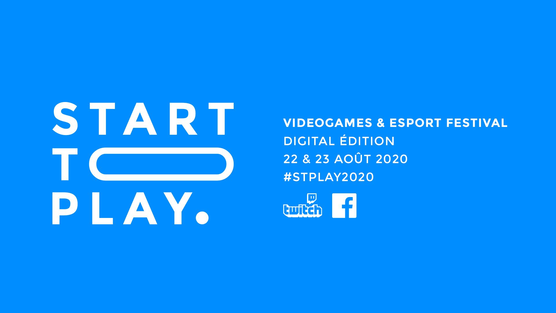 [Annonce] Start To Play s'adapte et devient 100% digitale pour l'édition 2020