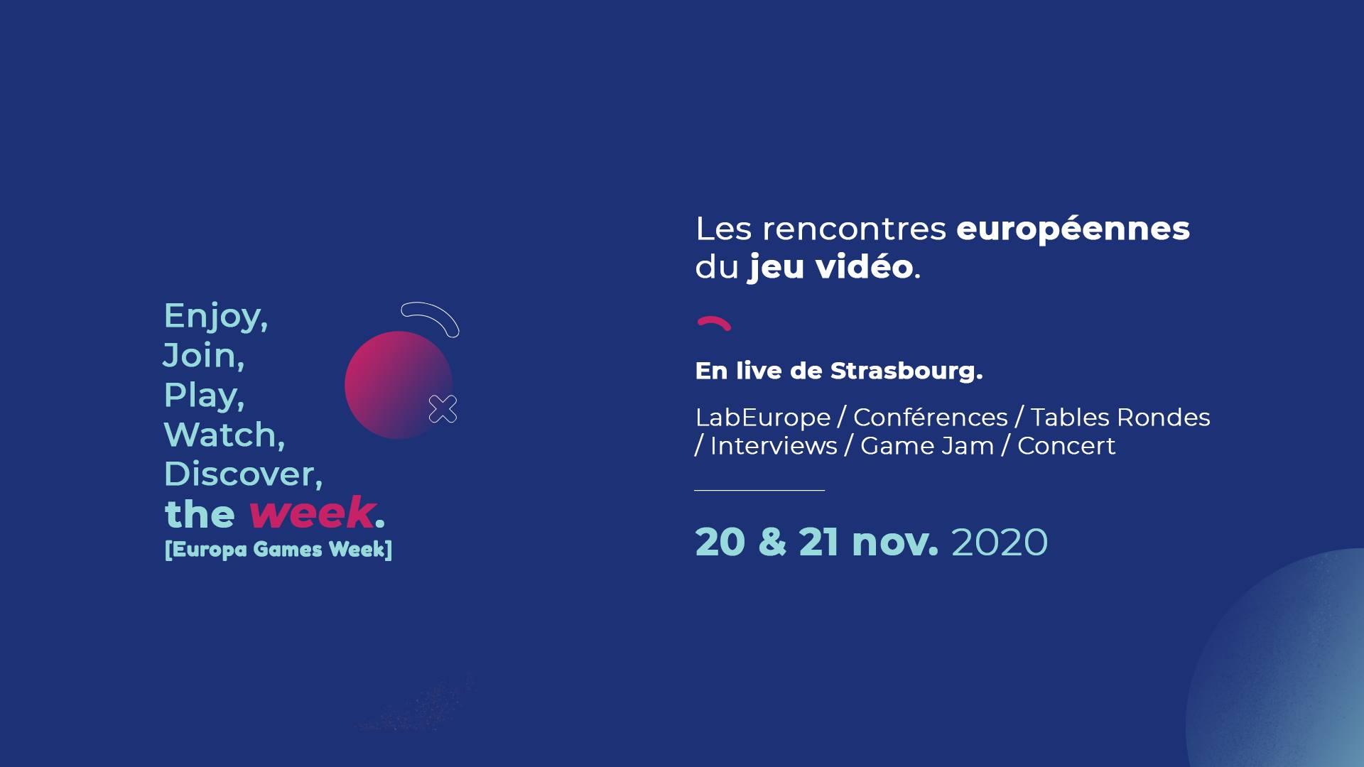 [ÉVÉNEMENT] Europa Games Week 2020